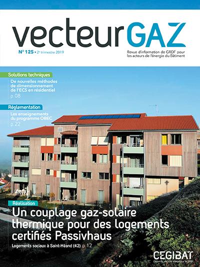 Revue Vecteur Gaz Cegibat GRDF