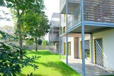 Une résidence bioclimatique en bois et éco-matériaux