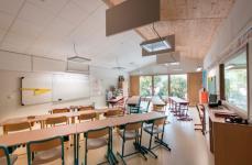 Une école passive et à énergie positive en milieu rural