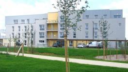 Référence Bepos de 30 logements  avec solution chaudières individuelles et PV