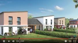 17 maisons BEPOS : chaudière condensation au gaz naturel + solaire PV