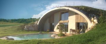 NaturaDome : une arche habitable éco-responsable à coût réduit