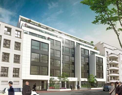 R novation de 5000 m de bureaux hqe et bbc r novation for Immeuble bureaux hqe