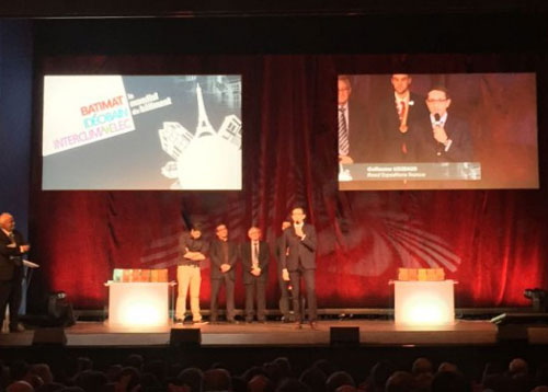 Awards du Mondial du Bâtiment 2015