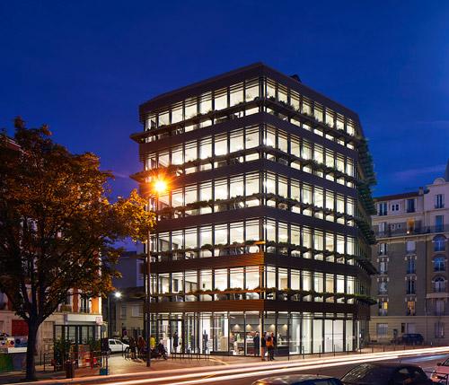 Immeuble de bureaux Les Horizons à Clichy