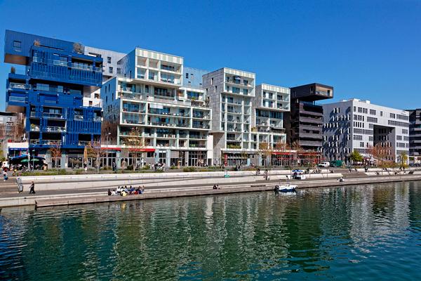Eco-quartier Confluence à Lyon