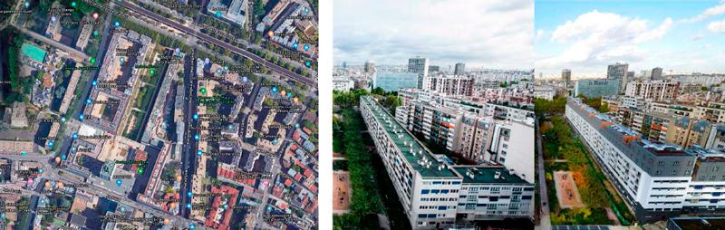 64 logements en surélévation