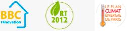 logos BBC RT2012 plan climat