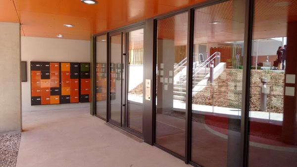 Hall d'entrée résidence Les Magnolias