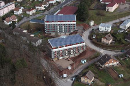30 logements collectifs à énergie positive