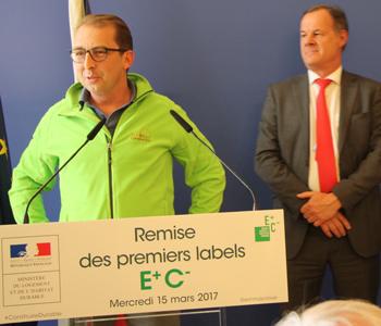 Obtention Label maison Ecolocost E+C-