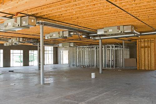 Ossature bois immeuble bas carbone