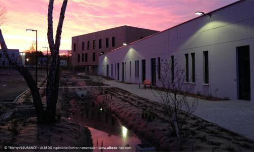 bâtiment tertiaire de 1 500 m² baptisé Seine Ecopolis à Saint-Etienne-du-Rouvray