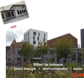 Rénovation de 800m² de bureaux « non-énergie » à Nantes