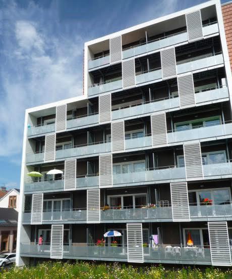 bâtiment bois 8 niveaux labellisé PassivHaus