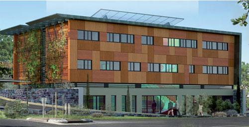 Construire un bâtiment de bureaux à énergie positive