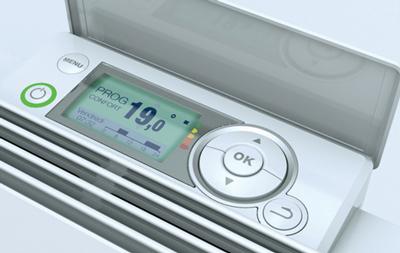 Boîtier de commande de radiateur connecté