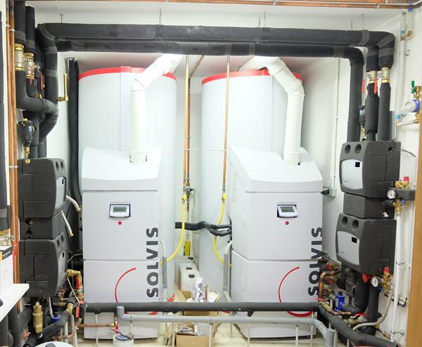 système combiné solaire / gaz SOLVIS