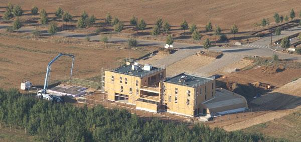 bâtiments à énergie positive ossature bois Convivium