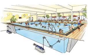 dessin piscine