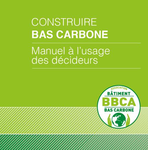 Manuel construire bas carbone
