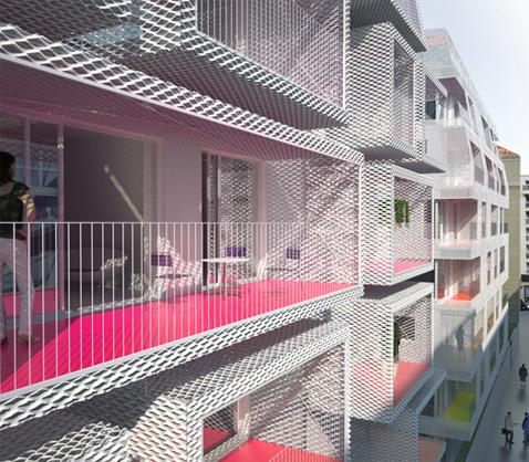 balcons colorés