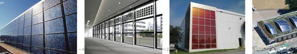 Exemples d'intégration architecturale de solaire PV - RBR 2020, références entreprise TCE Solar