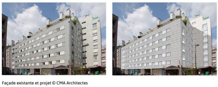 Isolation - façade existante