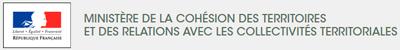 logo ministère de la cohésion des territoires