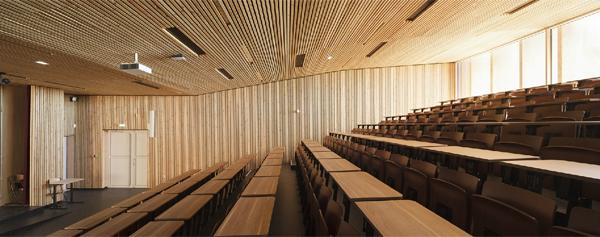 Lycée à énergie positive certifié HQE