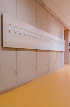 mur intérieur en béton de terre