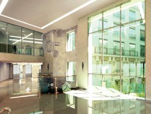 Réhabilitation d'un immeuble de bureaux Haussmanien labellisé BBC