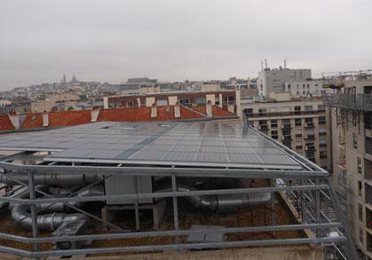 Système de ventilation double flux collective