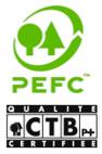 forêts gérées durablement certifiés PEFC