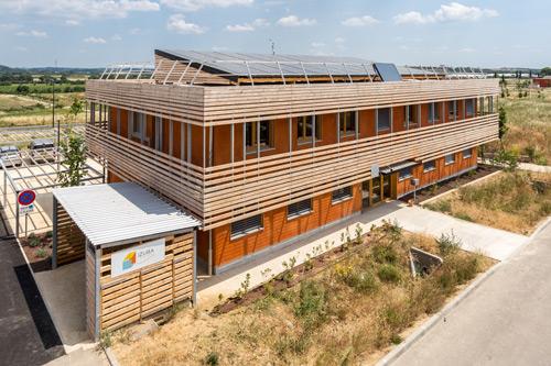 vue générale du bâtiment IzubaA