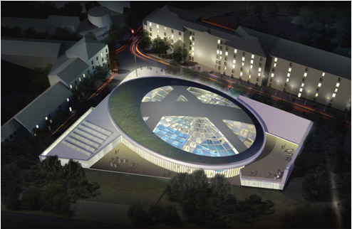 Projet piscine de Vincennes