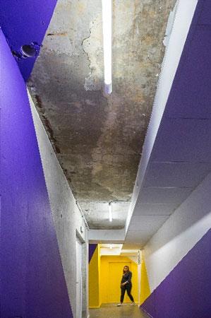 Plafond béton