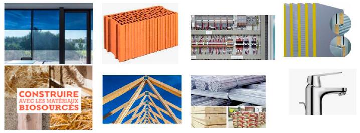 Produits de construction