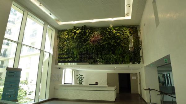 Réhabilitation d'un immeuble de bureaux
