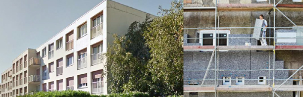 Rénovation d'une copropriété BBC Résidence du Parc
