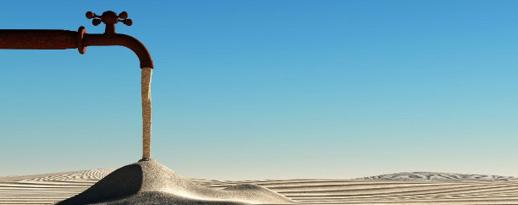robinet de sable
