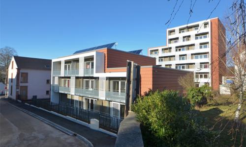 résidence Jules Ferry (26 logements en R+7) à Saint-Dié-des-Vosges