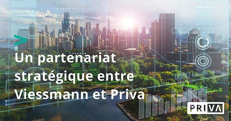 Priva Viessmann partenariat