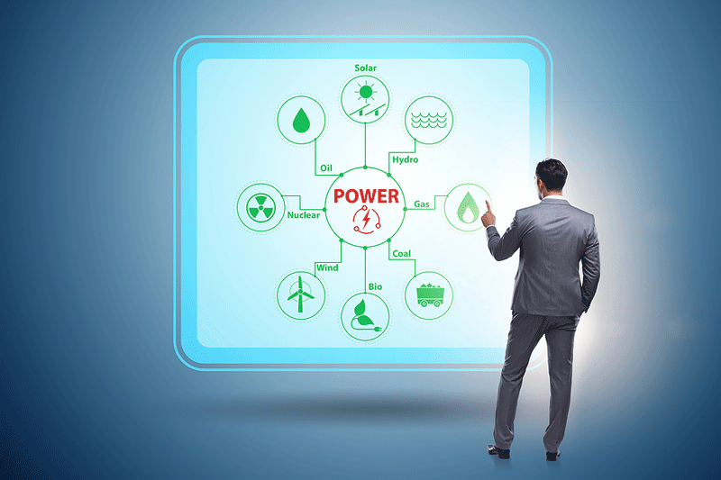 électricité centrale virtuelle