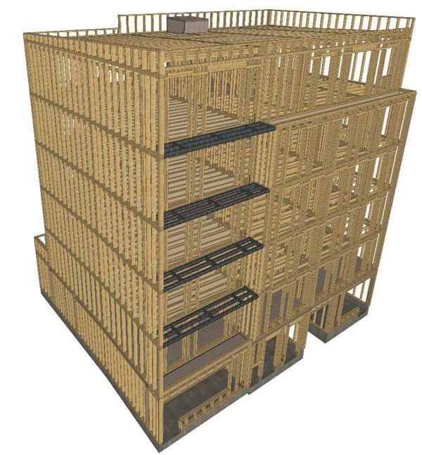 bois construction niveaux