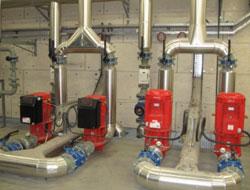 pompes pour réseau de chaleur bois