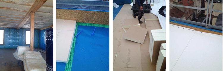 enveloppe murs plancher toiture