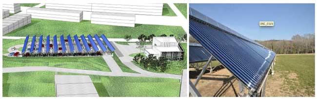 Balma 800 m² de capteurs solaires