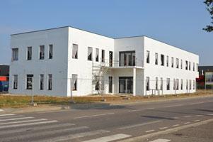 nouveau bâtiment Hitachi
