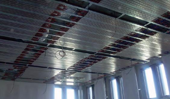 composants plafond climatique CD-4